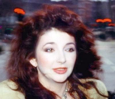 Kate Bush: Loves a bit of gothic imagery, hates smartphones.