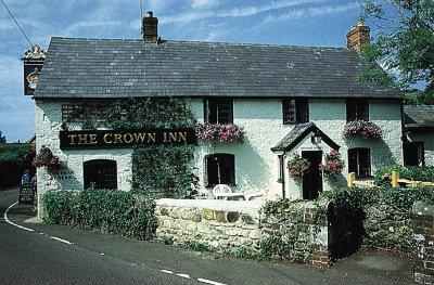 The Crown Inn, Shorwell, Isle of Wight: serving up fine ales and,  coming soon, a sparkling new broadband connection to power its WiFi.