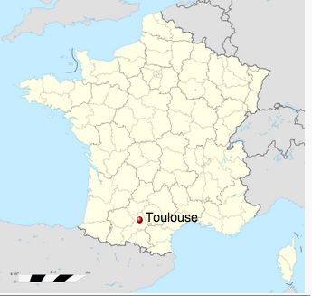 The fourth largest metropolitan region in France, Toulouse is a center of technology and aerospace. (Source: Wikipedia.)</p>